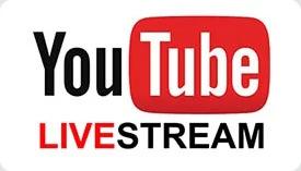 YouTube Livestream services